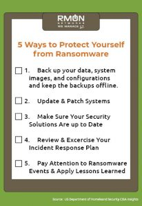 5 Ways to Protect Yourself from Ransomware