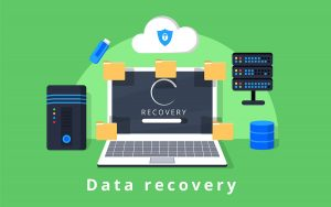 Data recovery diagram for businesses
